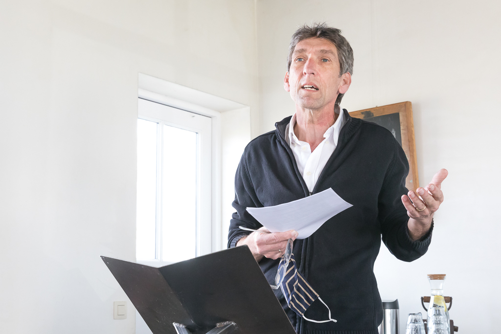 Auteur Peter Kooij geeft een toelichting op de totstandkoming van het boek