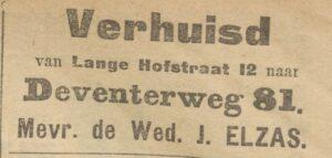 06-05-1911 Verhuisbericht Zutphense Courant